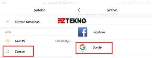 Cara Menghapus Akun Google di HP Android