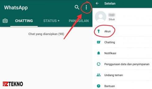 Cara Menghilangkan Status Online di WhatsApp di hp android