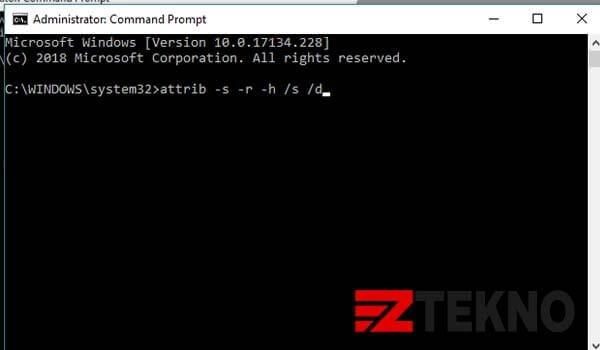 Menghilangkan Virus Shortcut di Flashdisk
