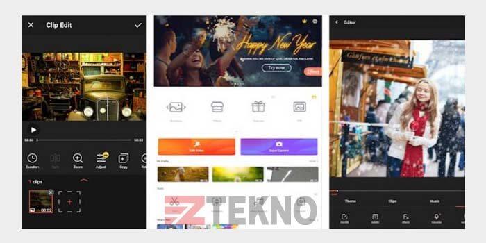 Aplikasi Edit Video di Android no watermark