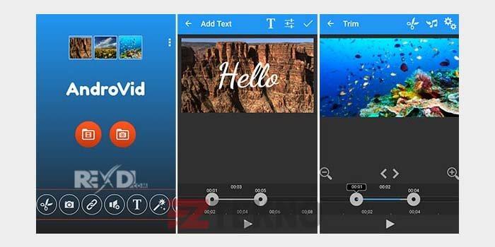 Aplikasi Edit Video di Android tanpa watermark