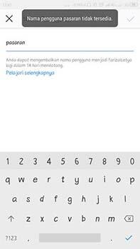 Cara Mengubah Username Instagram