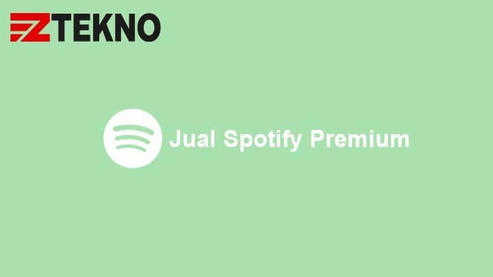 Jual Spotify Premium