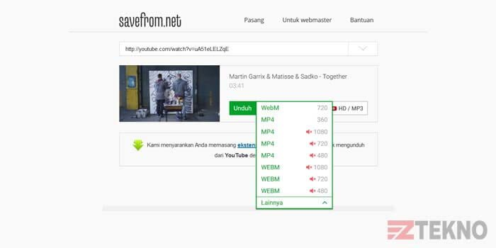 cara download video youtube terbaru