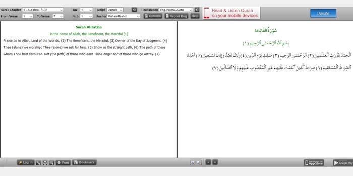 Al Quran Explorer