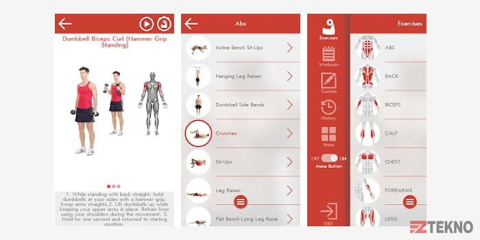 Aplikasi Fitness & Bodybuilding