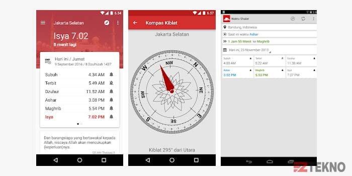 Aplikasi Jadwal Sholat dan Imsakiyah