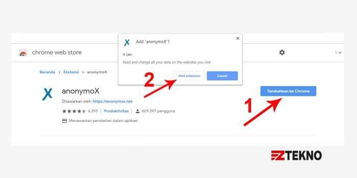 Anonymox Chrome