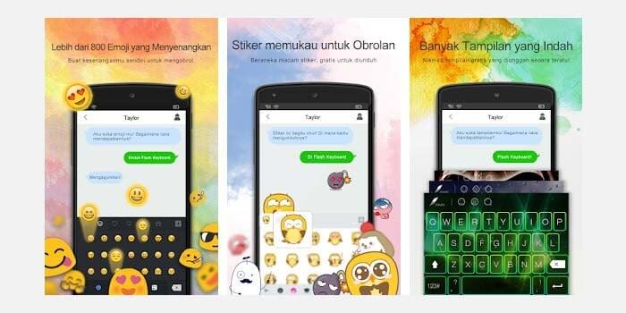 Flash Aplikasi Keyboard Android
