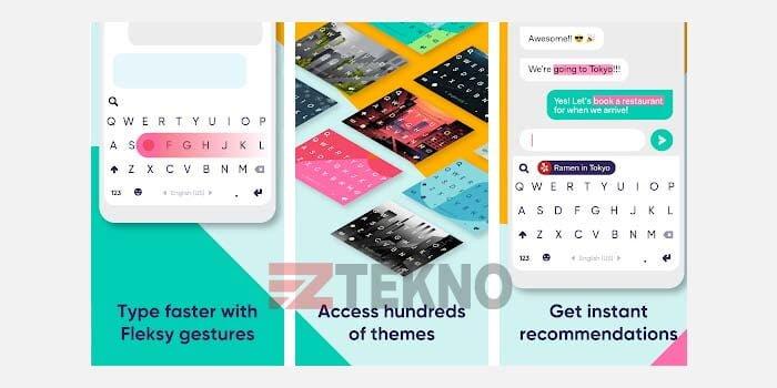 Fleksy Aplikasi Keyboard Android