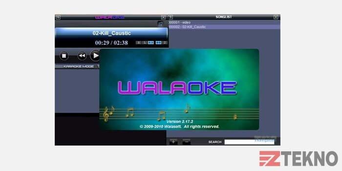 Walaoke Aplikasi Karaoke PC