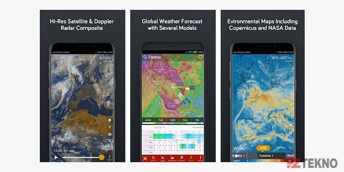 5 Aplikasi Prakiraan Cuaca Android Paling Terbaik Dan Akurat 2021