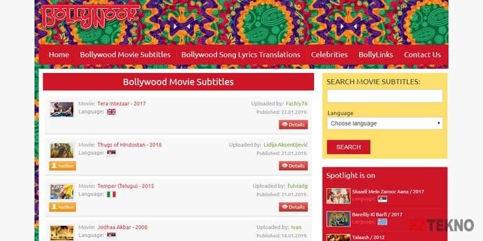 download subtitle indonesia bollywood