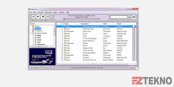kJams Aplikasi Karaoke PC