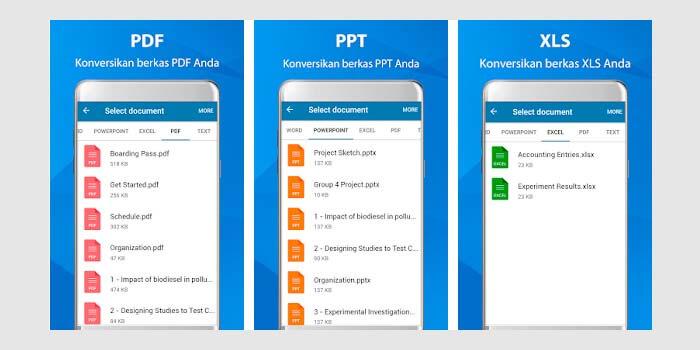 cara mengubah pdf ke word di hp android