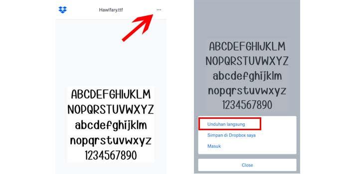 2 Cara Download File Di Dropbox Dari Hp Android Dan Laptop