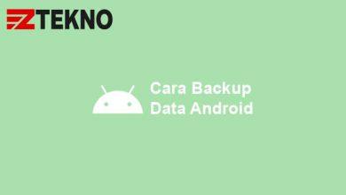 Cara Backup Data Android