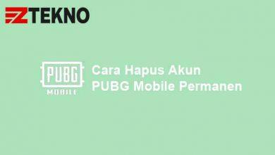 Cara Hapus Akun PUBG Mobile Permanen