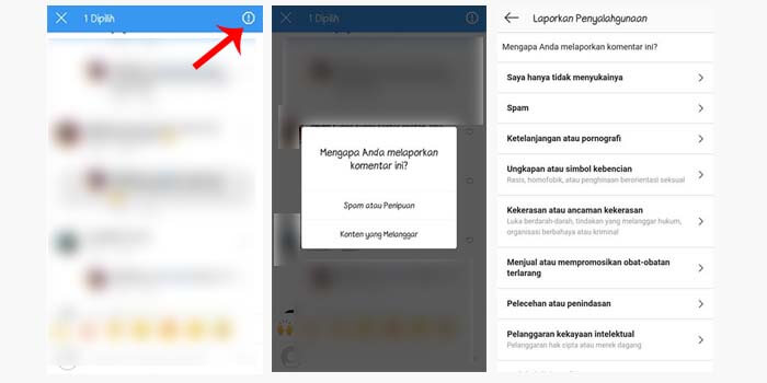Cara Melaporkan Akun Spam di IG