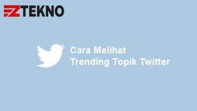 Cara Melihat Trending Topik Twitter