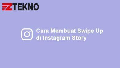 Cara Membuat Swipe Up di Instagram Story