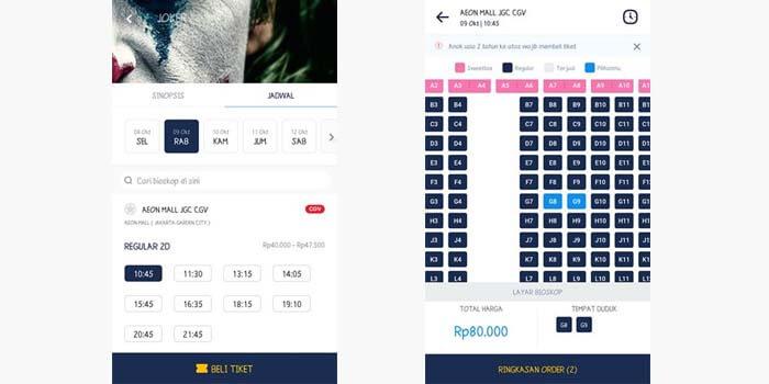 Cara Memesan Tiket Bioskop di Tix ID