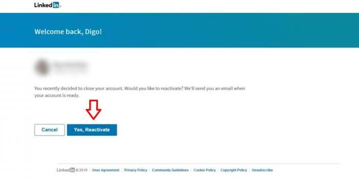 Cara Mengaktifkan Akun LinkedIn yang Dihapus