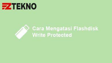 Cara Mengatasi Flashdisk Write Protected