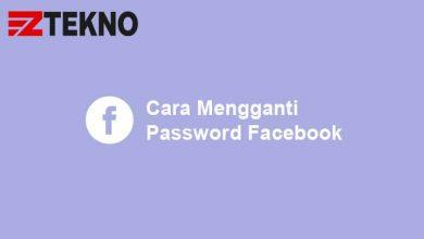 Cara Mengganti Password Facebook