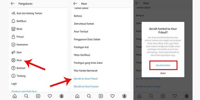 Cara Menghapus Tulisan Blog Pribadi di Instagram