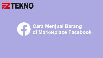 Cara Menjual Barang di Marketplace Facebook