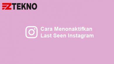 Cara Menonaktifkan Last Seen Instagram