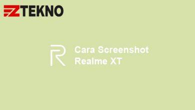 Cara Screenshot Realme XT
