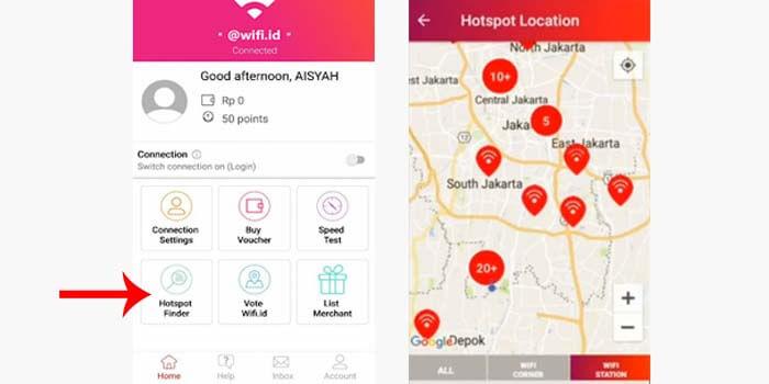 4 Cara Cari Lokasi Wifi Id Terdekat Di Daerah Anda Akurat