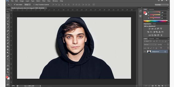 Mengganti Warna Background Foto Photoshop CC