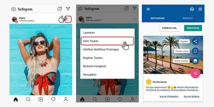 Cara menyimpan video Instagram di HP Android