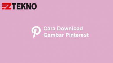 Cara Download Gambar Pinterest