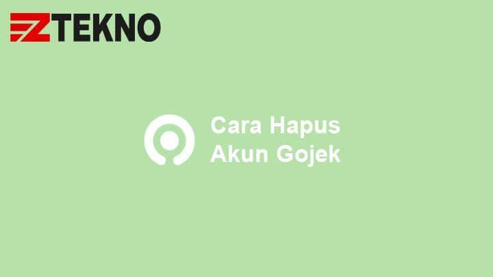 Cara Hapus Akun Gojek