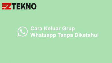 Cara Keluar Grup Whatsapp Tanpa Diketahui