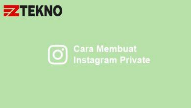 Cara Membuat Instagram Private