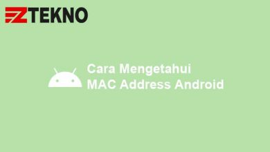 Cara Mengetahui MAC Address Android