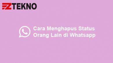 Cara Menghapus Status Orang Lain di Whatsapp