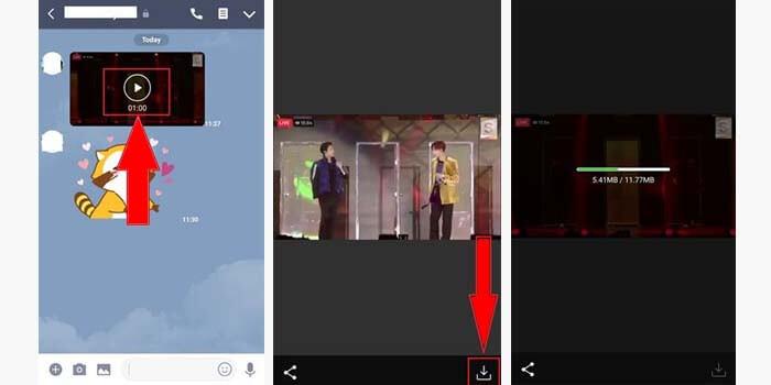 Cara Menyimpan Video di Line Chat