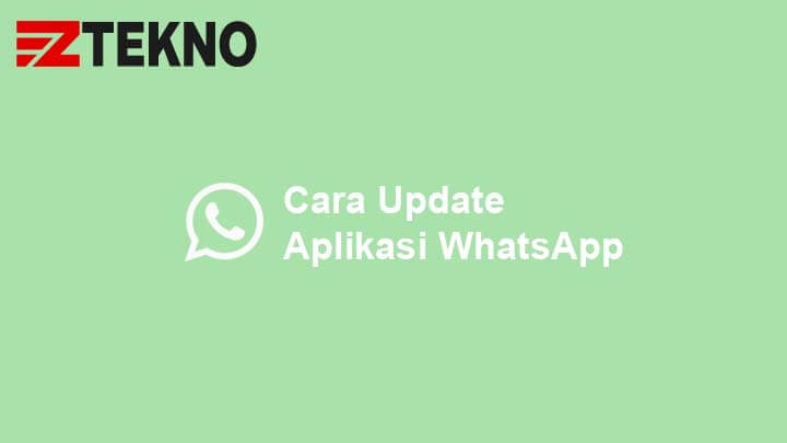 Cara Update WhatsApp