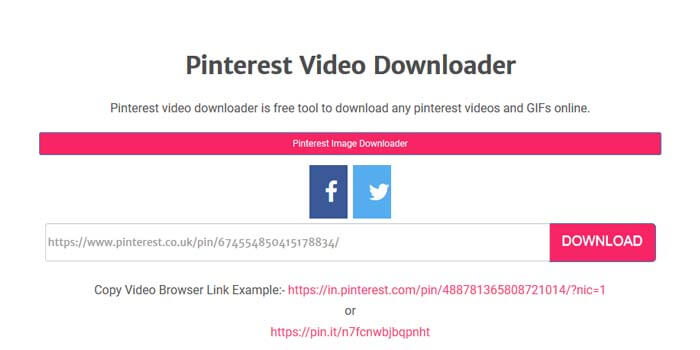 Cara download video dari pinterest tanpa aplikasi