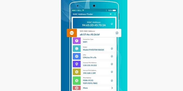 Cara mengetahui MAC Address di HP Android