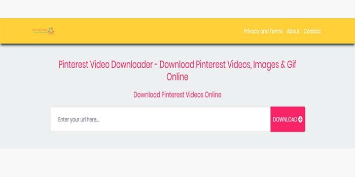 Cara menyimpan video pinterest