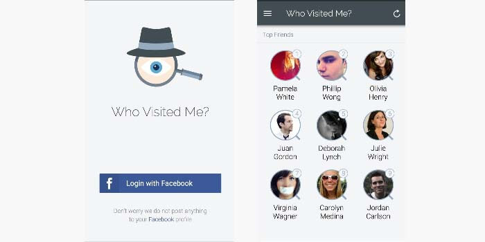 Who Visited Me On Facebook