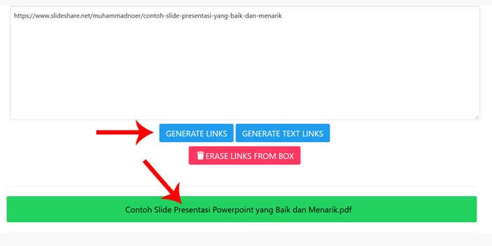 cara download ppt di slideshare tanpa login