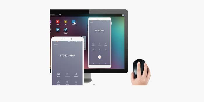 cara remote hp android dari laptop pc